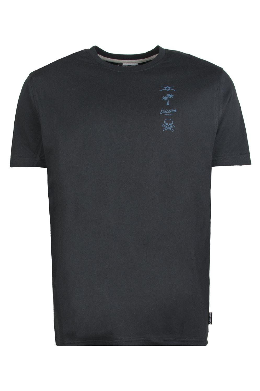 T-Shirt Ericeira Surf Skate TOBAGO Dark Charcoal
