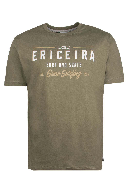 T-Shirt Ericeira Surf Skate LAST DIAMOND Green Iguana
