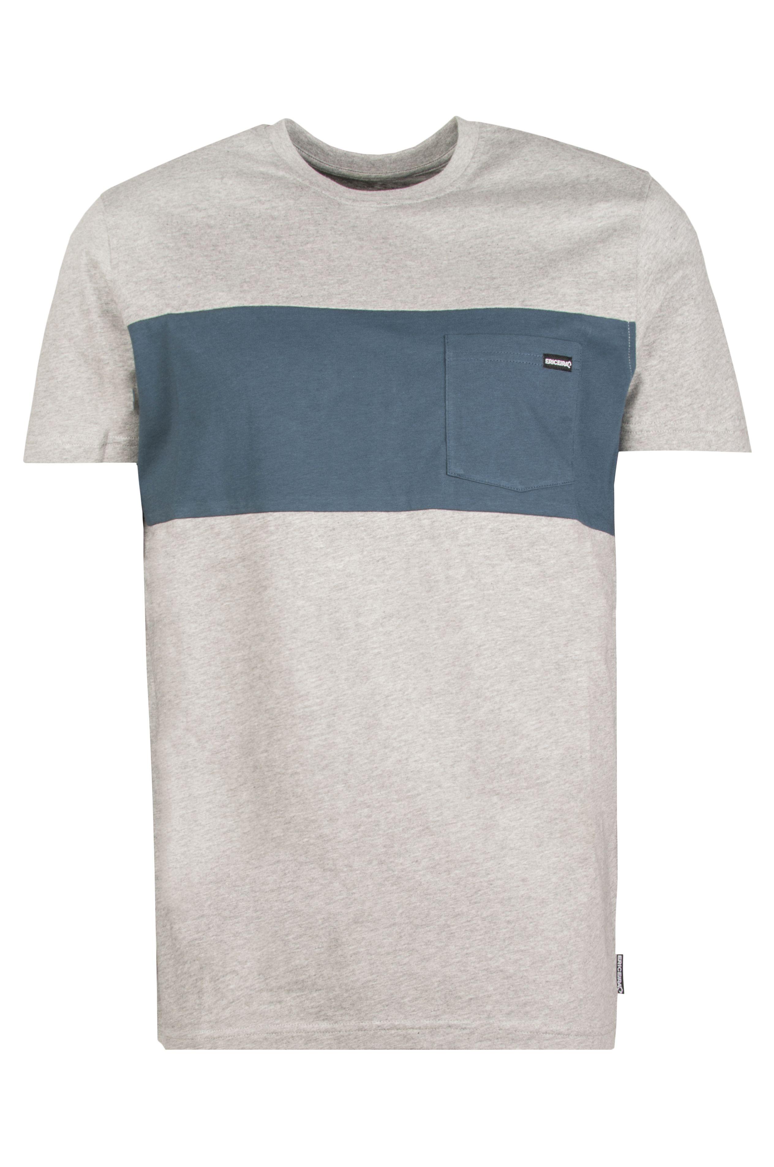 T-Shirt Ericeira Surf Skate LINTEN ?21 Grey Heather