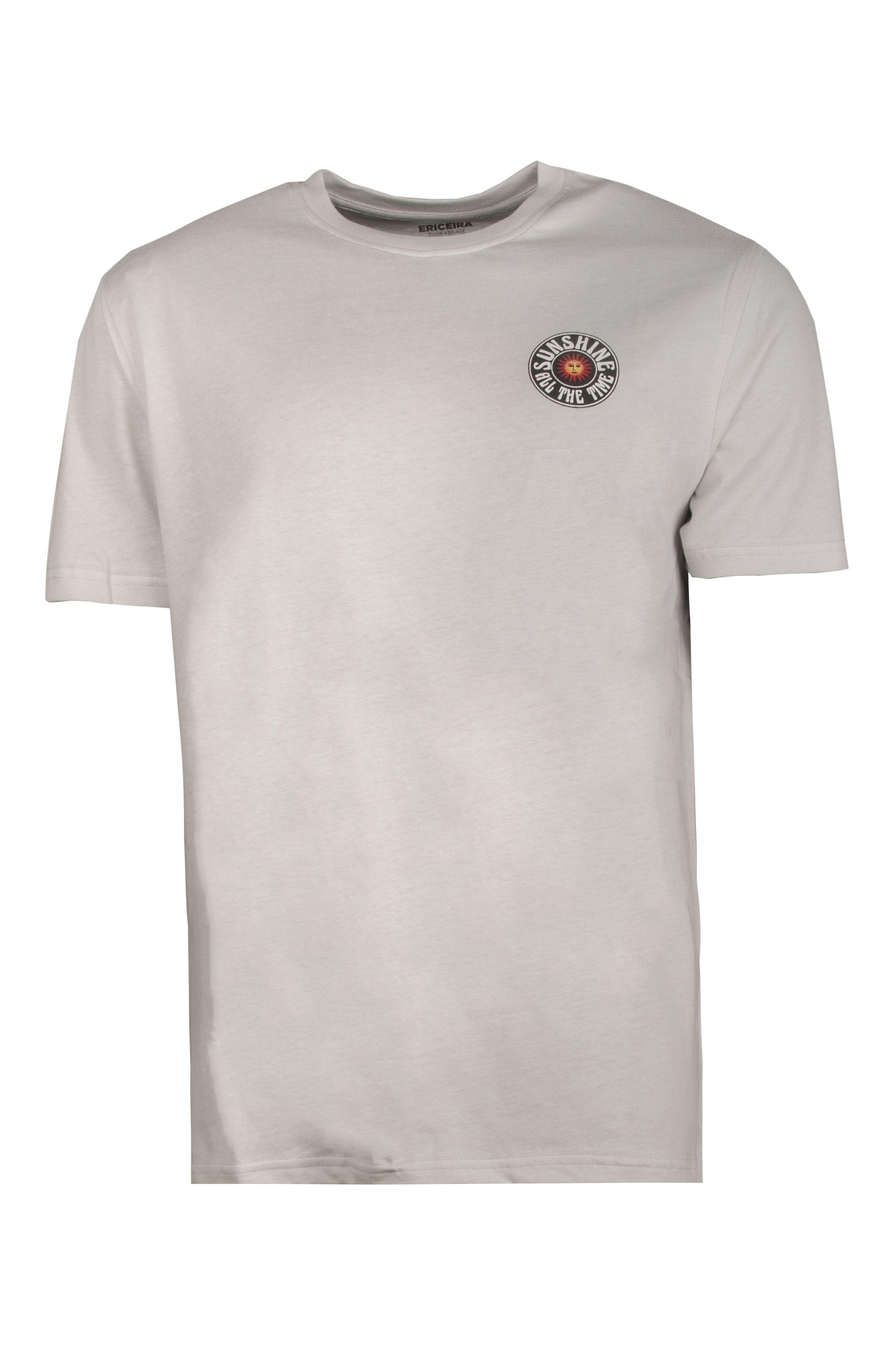 Ericeira Surf Skate T-Shirt SUN SMILE Off White