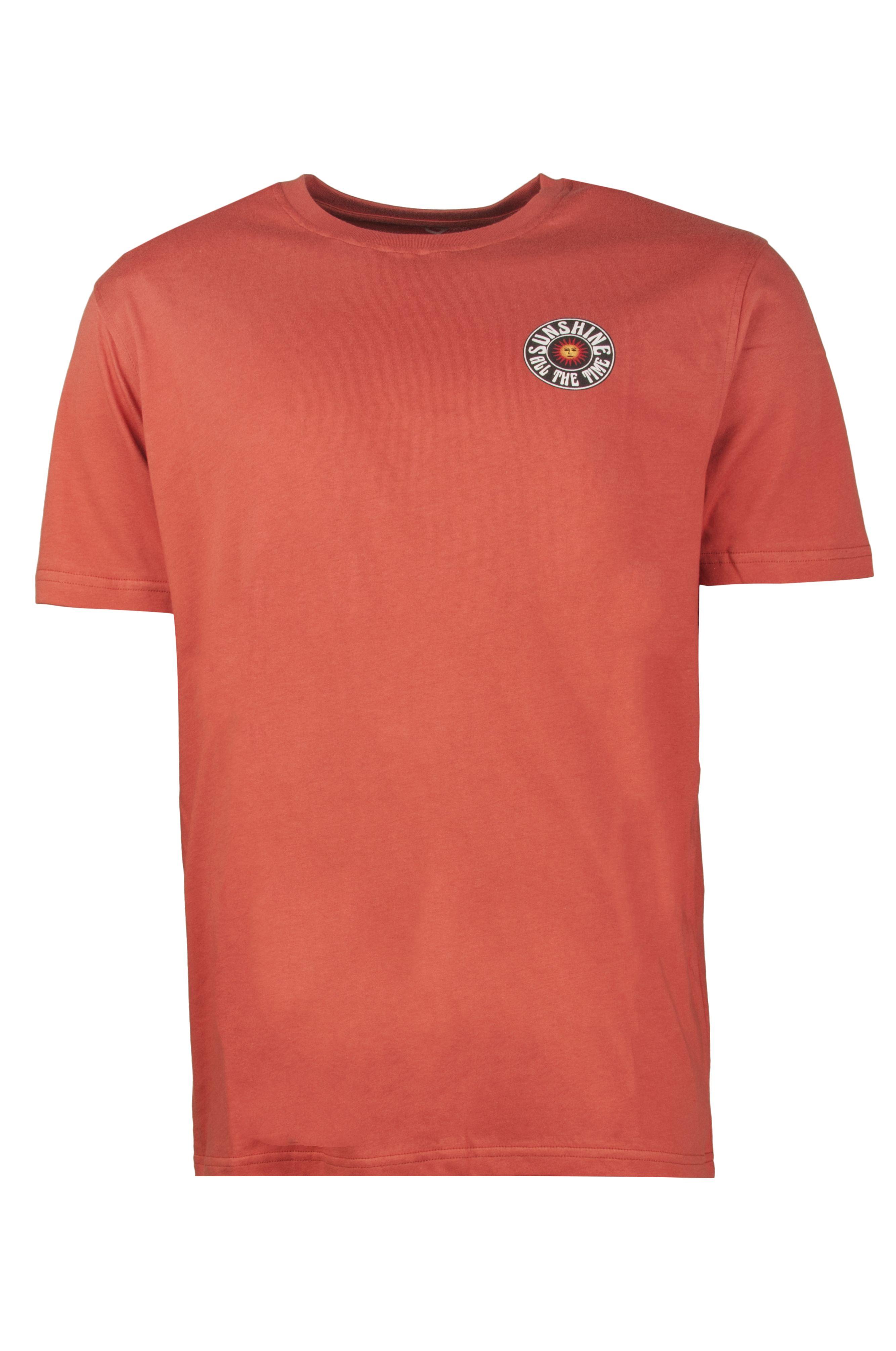 Ericeira Surf Skate T-Shirt SUN SMILE Blood