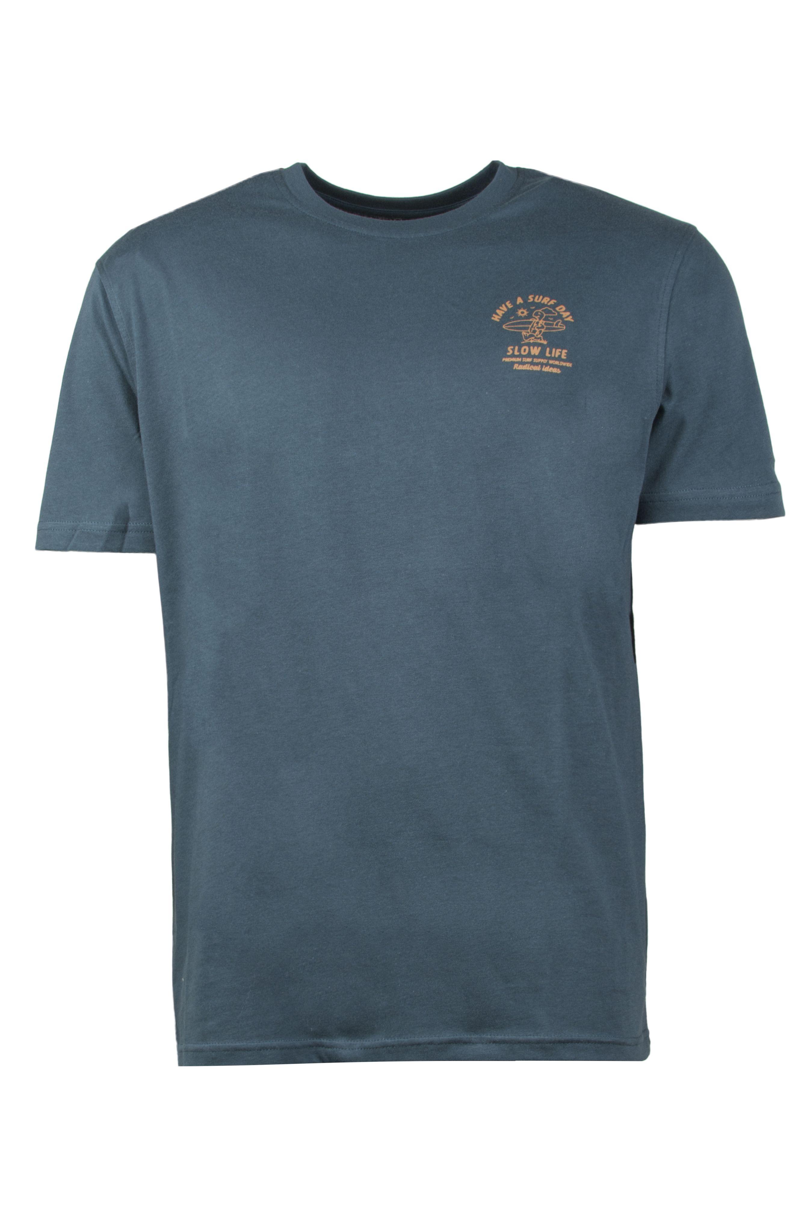 Ericeira Surf Skate T-Shirt RABIT SURFER Navy