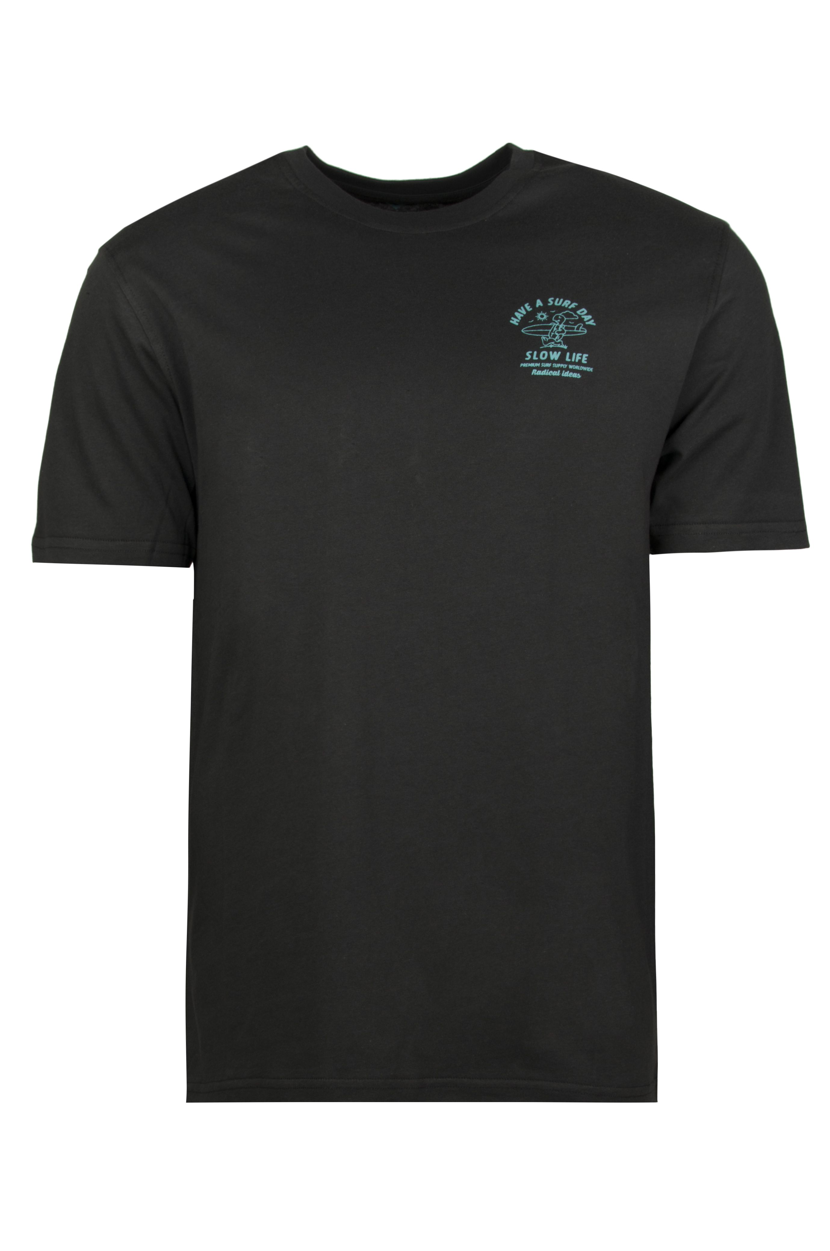 T-Shirt Ericeira Surf Skate RABIT SURFER Charcoal
