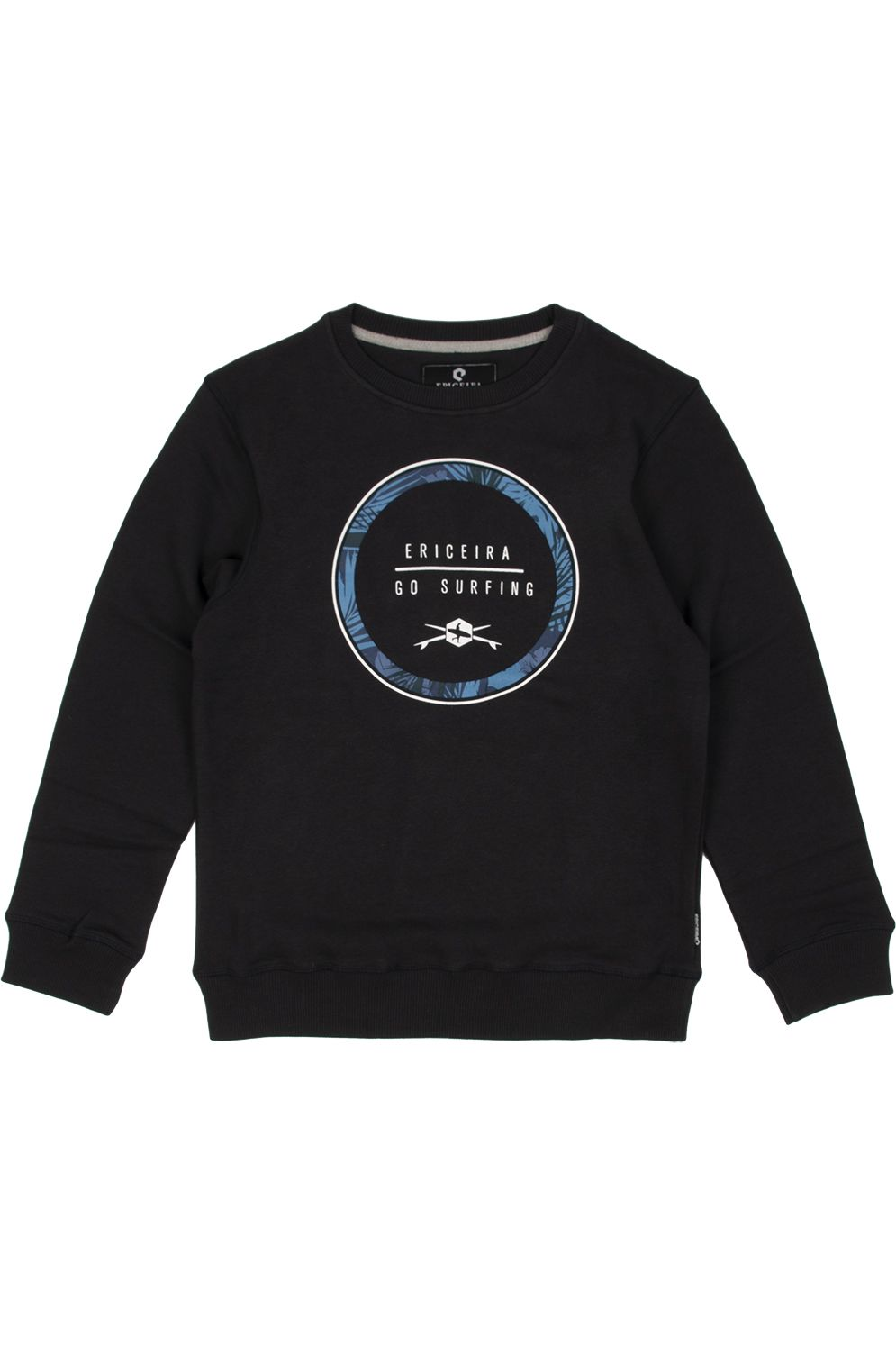 Sweat Basica Ericeira Surf Skate ONE PALM Dk Charcoal