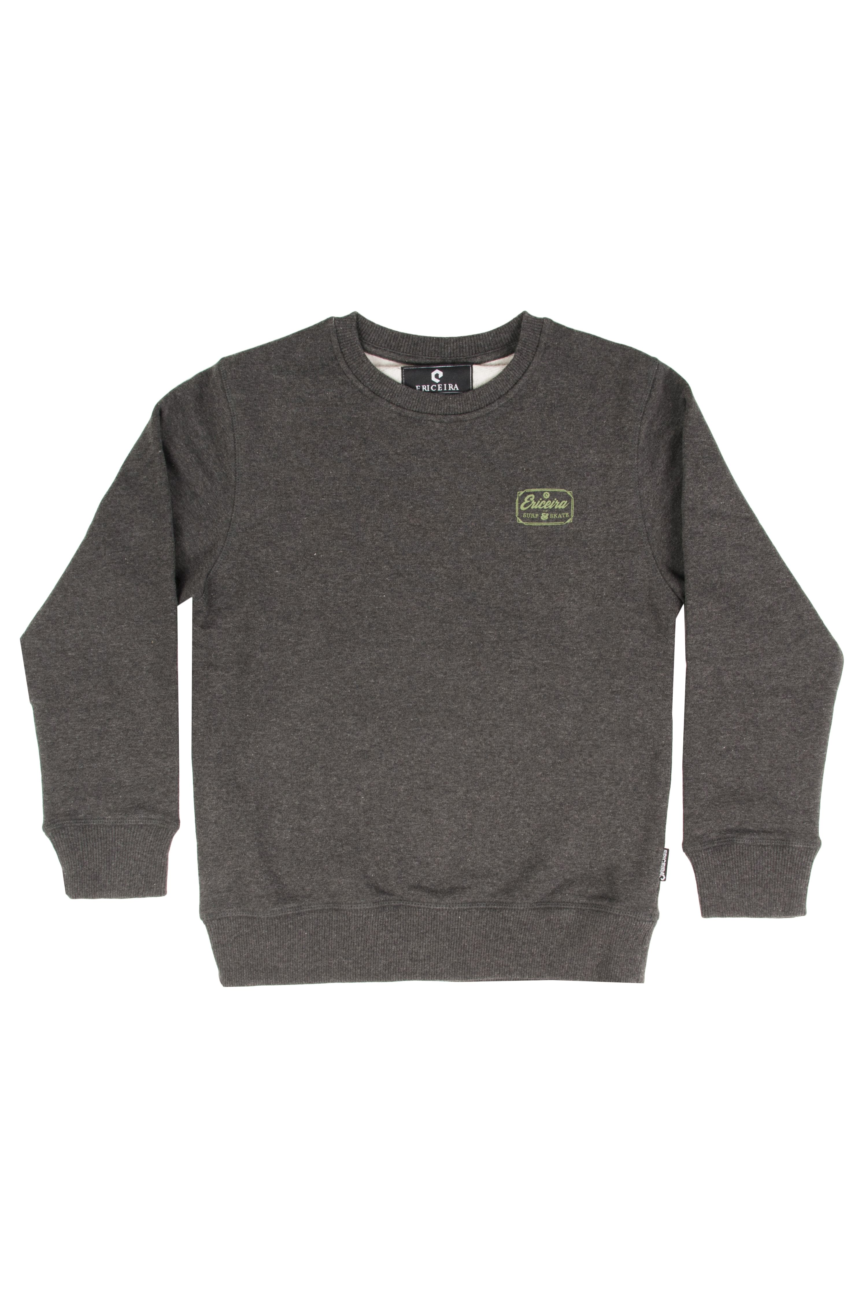 Ericeira Surf Skate Crew Sweat CLASSIC Charcoal Heather