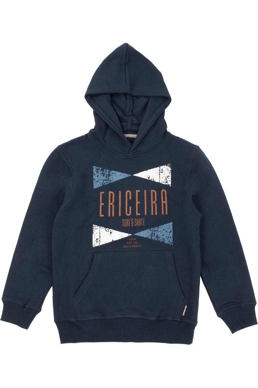 Ericeira Surf Skate Sweat Hood NUSA PENIDA Navy Blue
