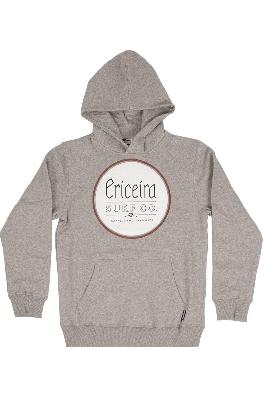 Ericeira Surf Skate Sweat Hood PRECIOUS Grey Heather