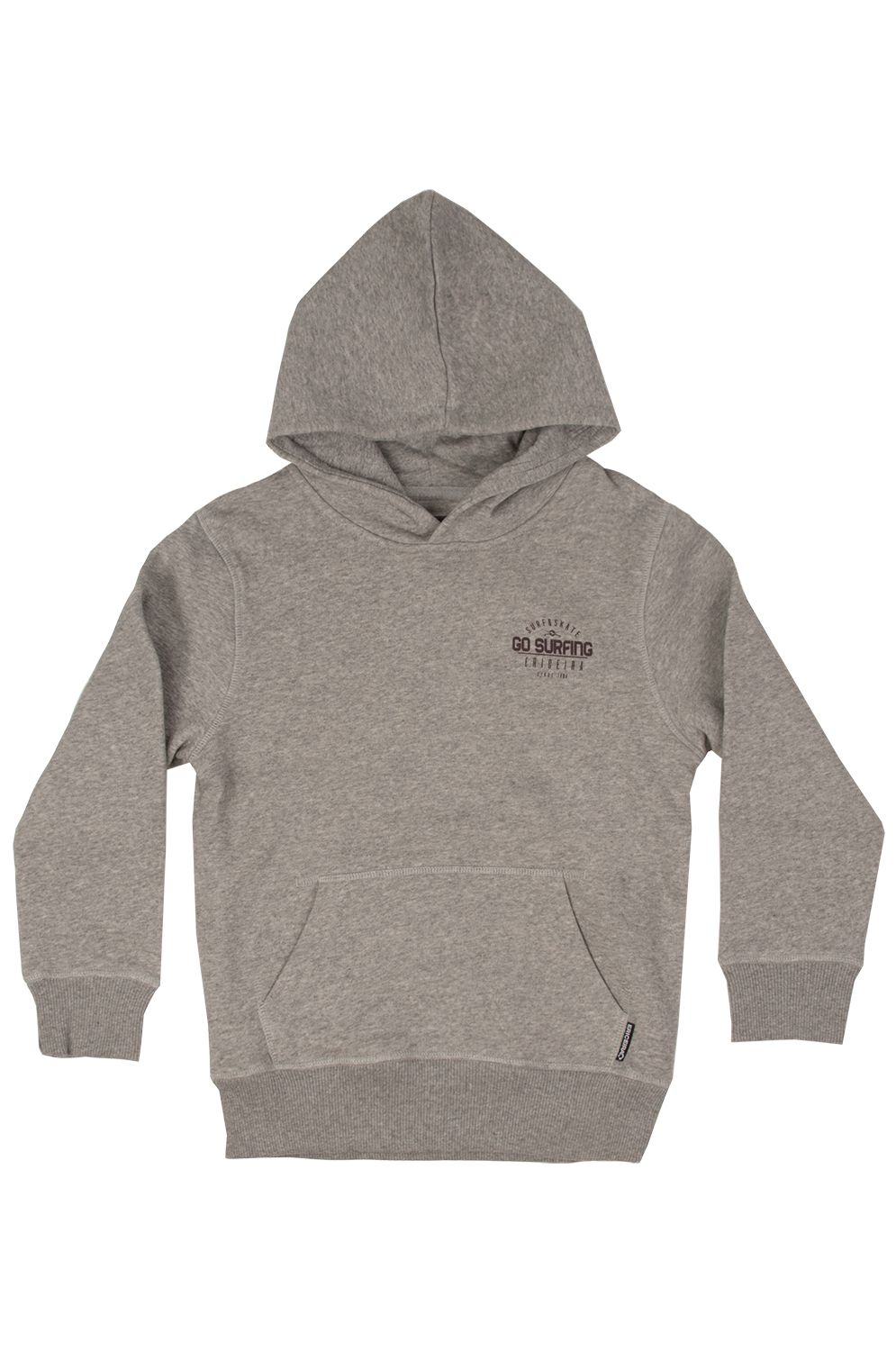 Sweat Capuz Ericeira Surf Skate STILBAY Grey Heather