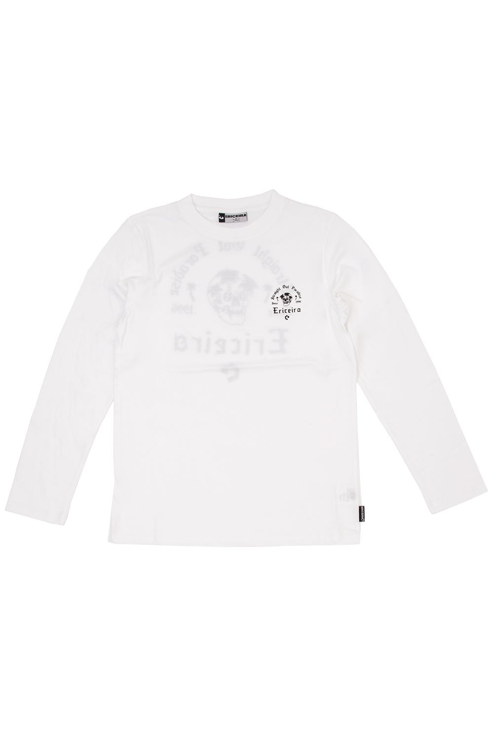 Ericeira Surf Skate L-Sleeve LOST IN PARADISE White