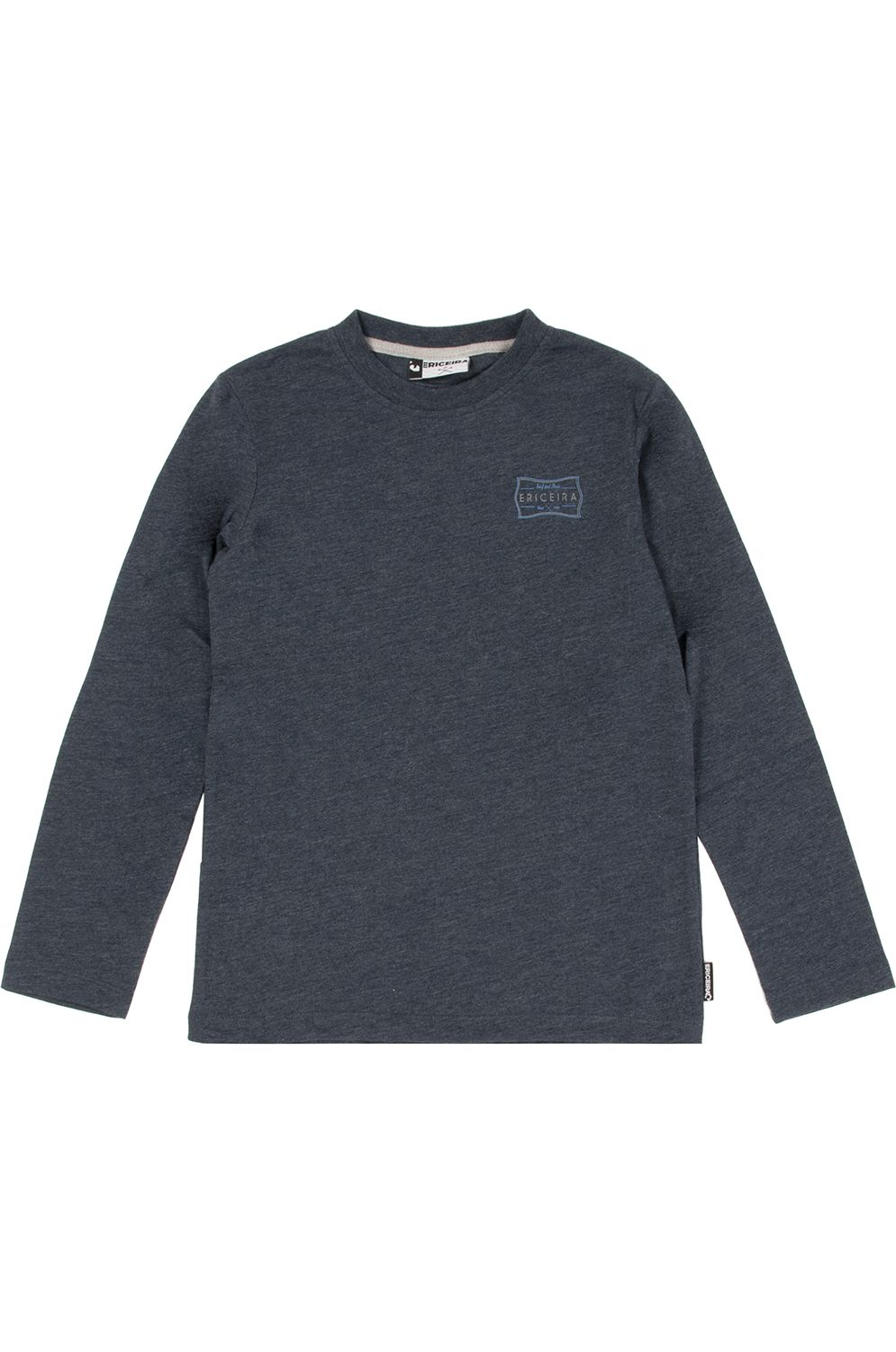 Ericeira Surf Skate L-Sleeve LAGUNDRY Navy Blue Heather