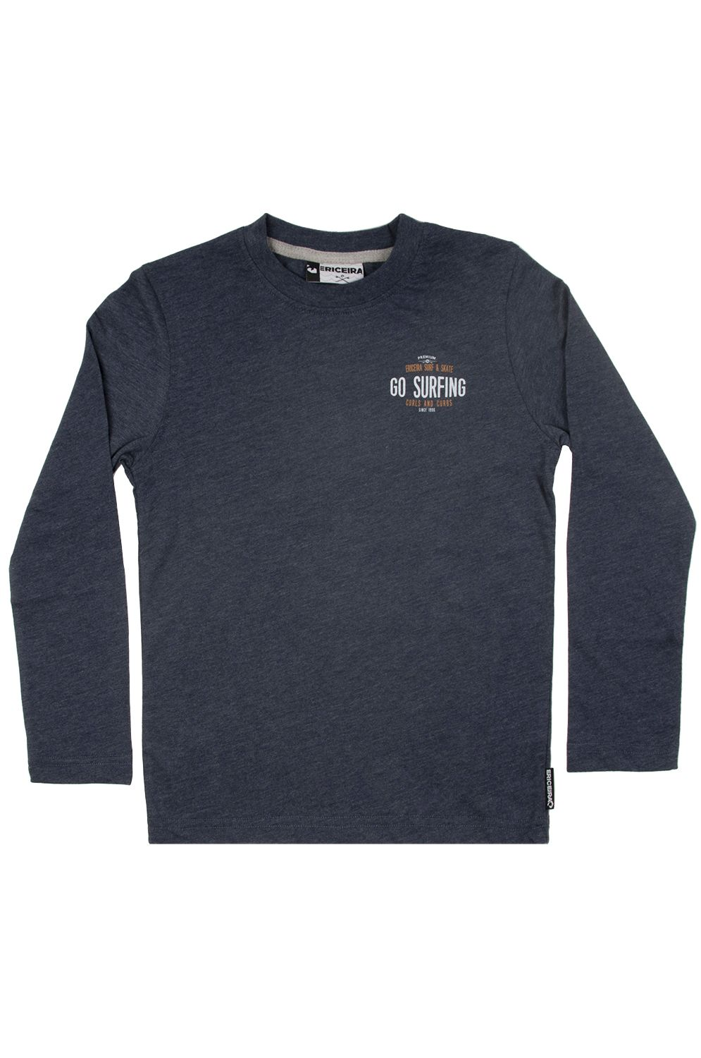 Ericeira Surf Skate L-Sleeve ELANDS BAY Dark Navy Heather
