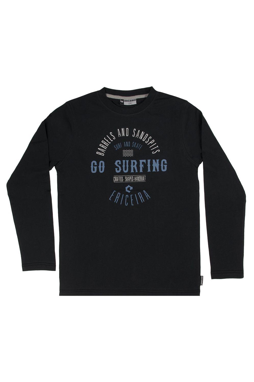 L-Sleeve Ericeira Surf Skate MARTINICA Dark Charcoal