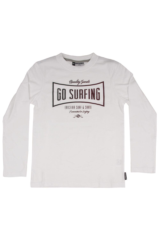 L-Sleeve Ericeira Surf Skate HEXUMAS White