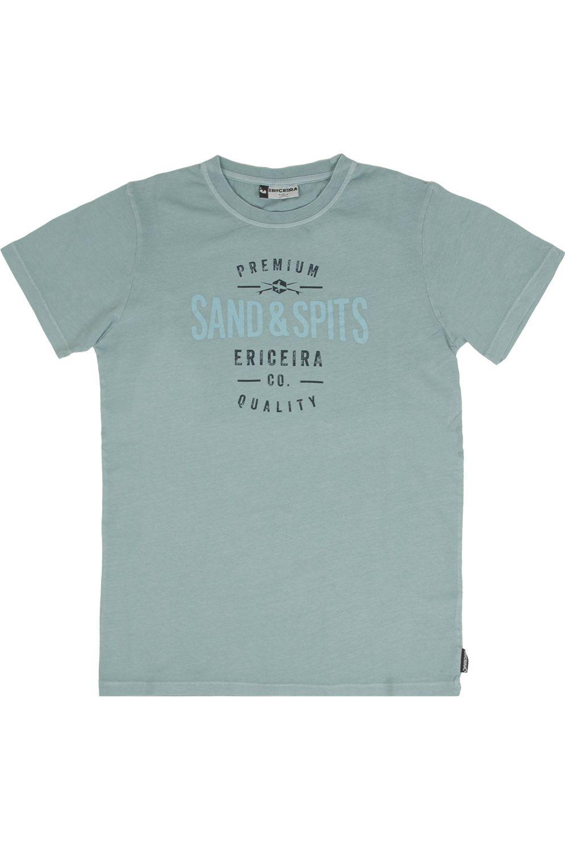 Ericeira Surf Skate T-Shirt NEW ORDER Oil Green