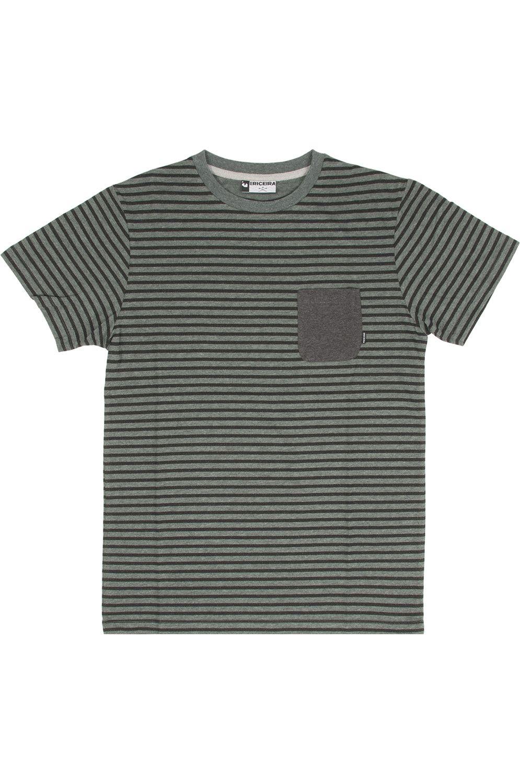 Ericeira Surf Skate T-Shirt DRAGONS Oil Green/Black