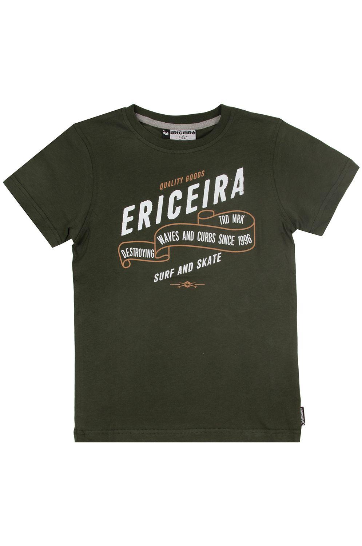 T-Shirt Ericeira Surf Skate VICTORYA BAY Green Moss