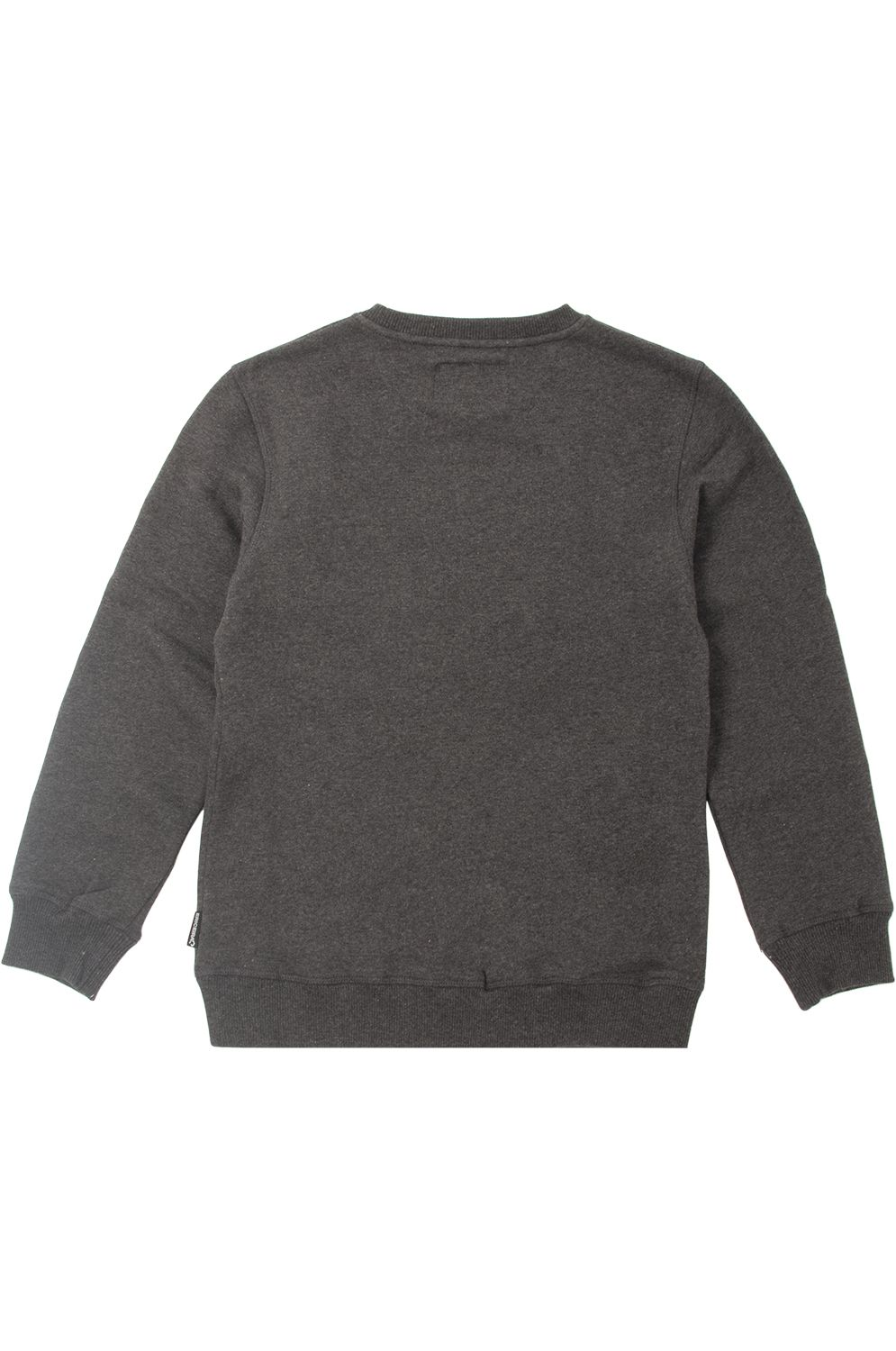 Sweat Basica Ericeira Surf Skate ROUND IT Charcoal Heather