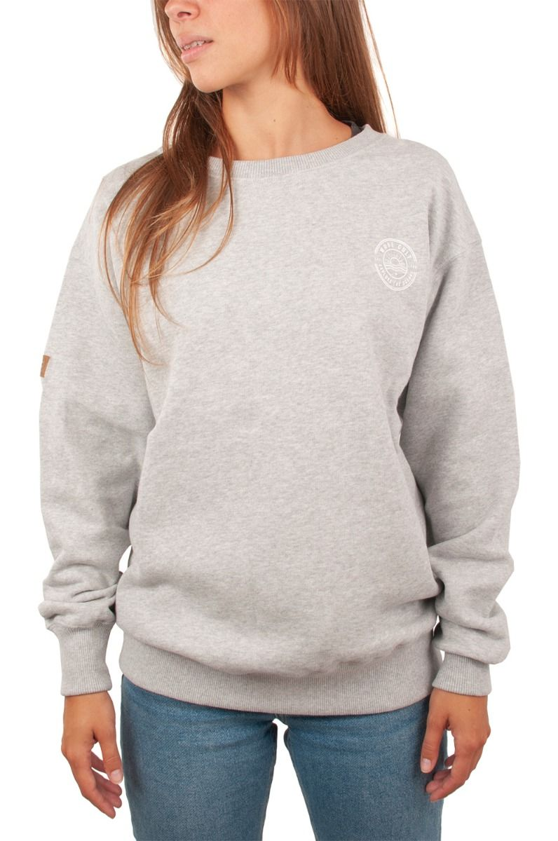 Ericeira Surf Skate Crew Sweat LOGO Grey