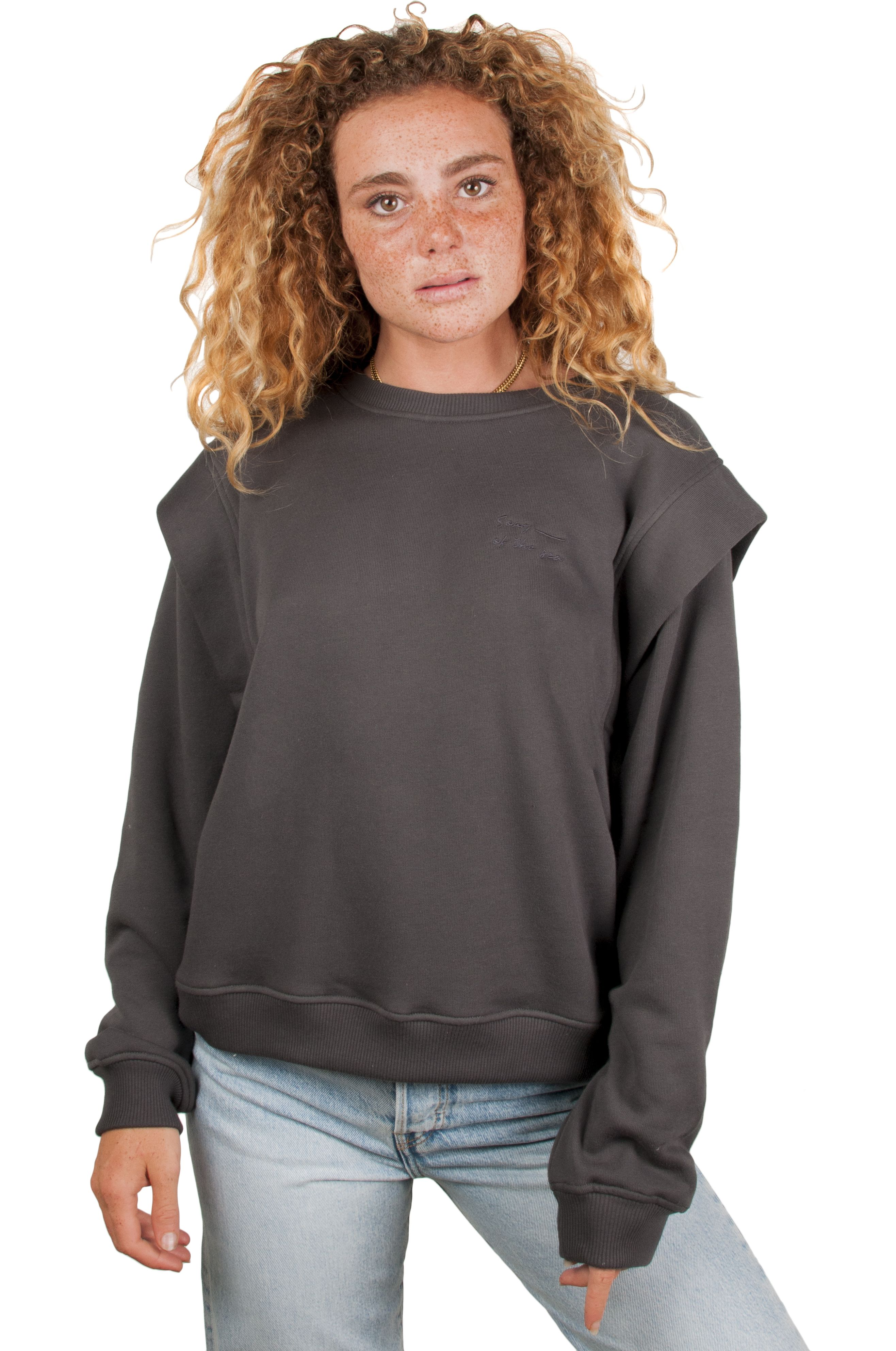 Ericeira Surf Skate Crew Sweat COOL Charcoal