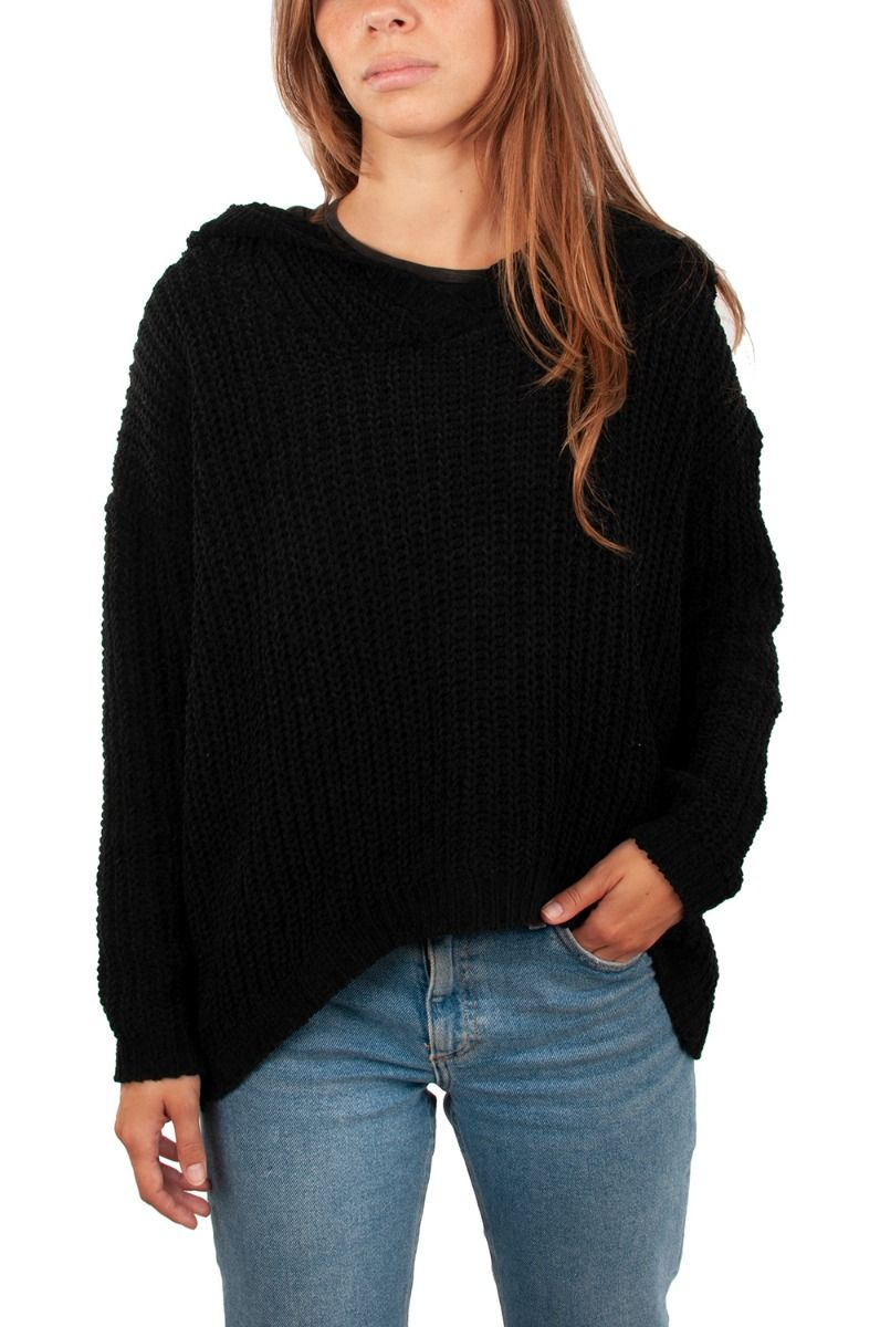Ericeira Surf Skate Sweater BLOOM II Black