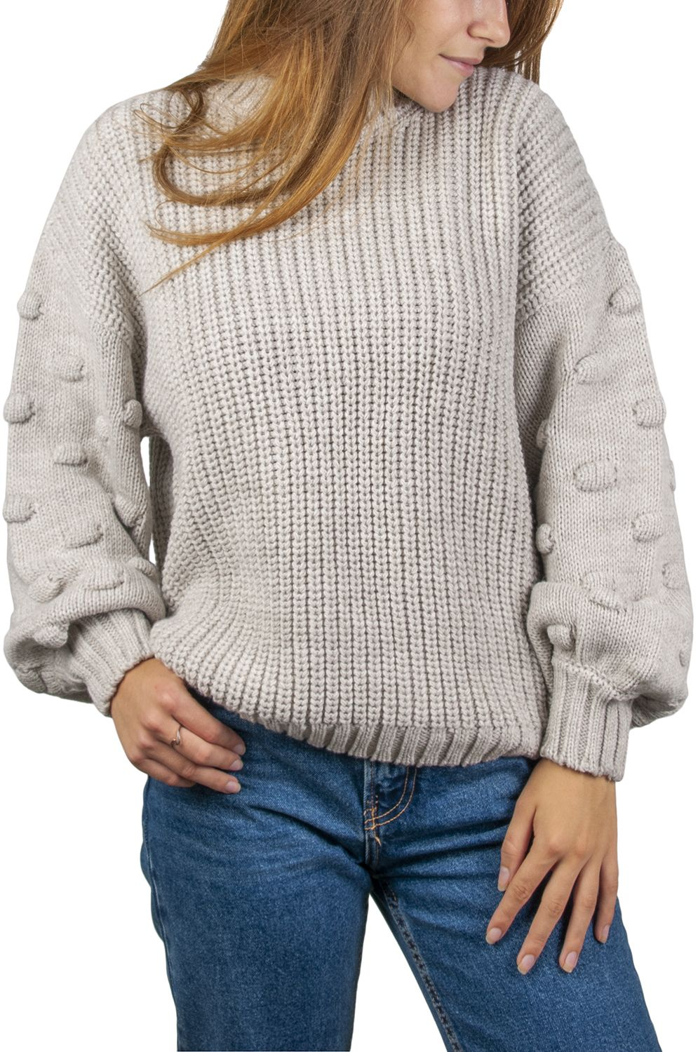 Ericeira Surf Skate Sweater BUBBLE Beige