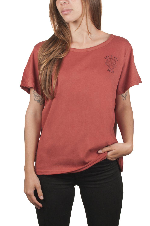Ericeira Surf Skate T-Shirt SHELL Rust