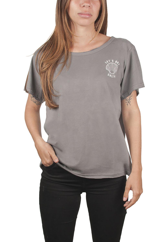 Ericeira Surf Skate T-Shirt SHELL Dk Grey