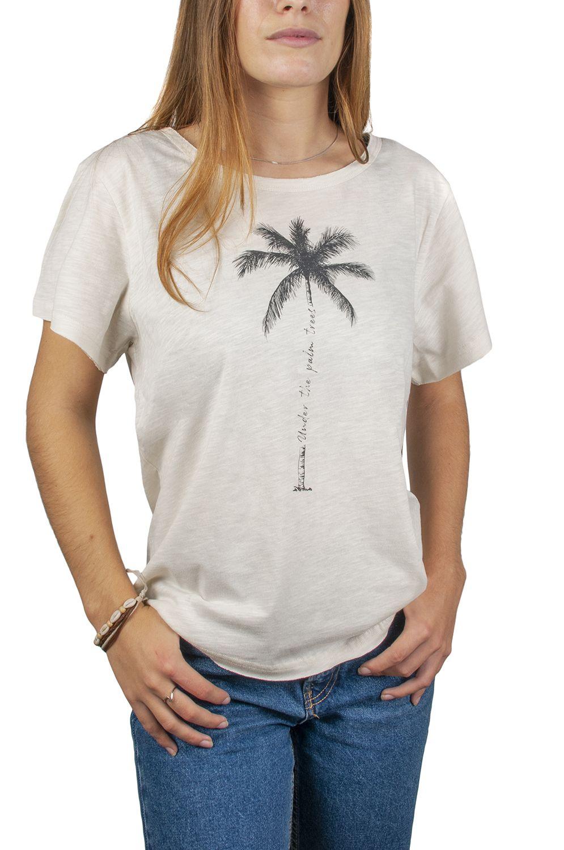 T-Shirt Ericeira Surf Skate PALM Beige
