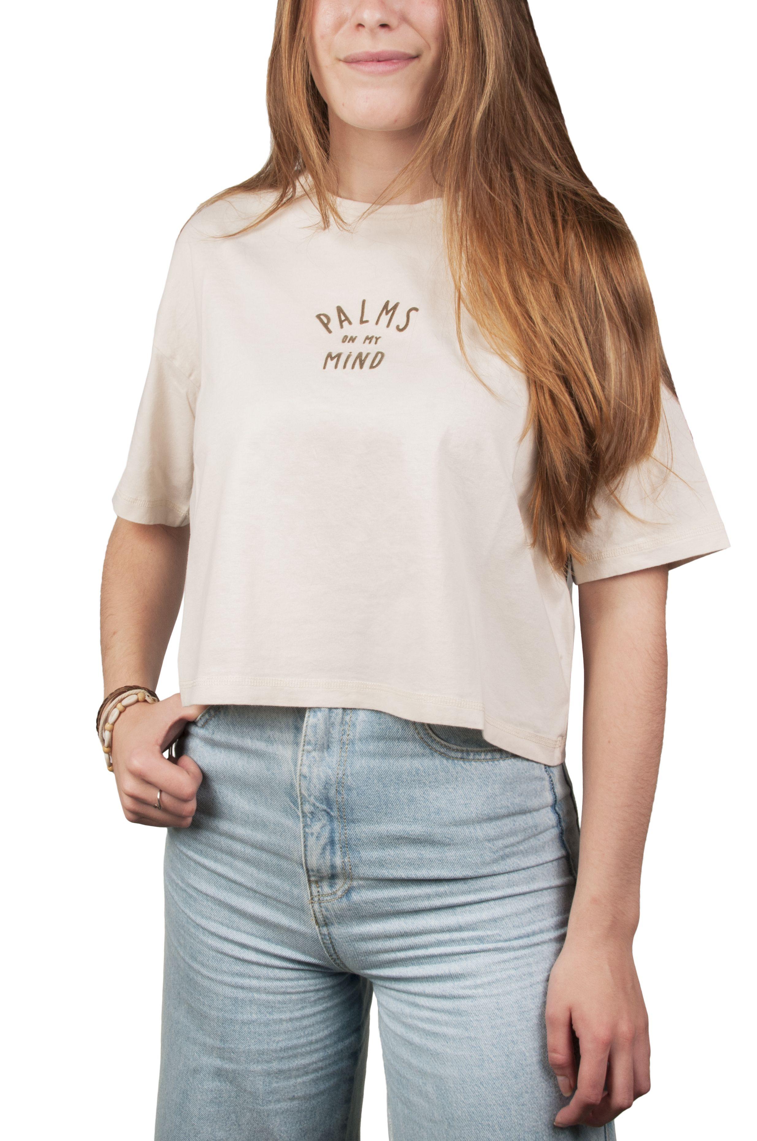 T-Shirt Ericeira Surf Skate SOL Cream