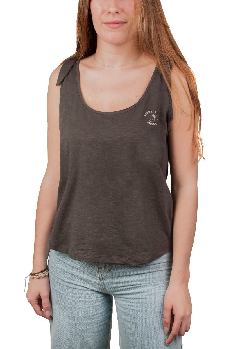 Ericeira Surf Skate Top COSTA Charcoal