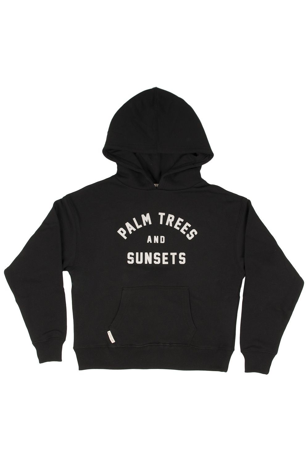 Sweat Capuz Ericeira Surf Skate SUNSET Off Black