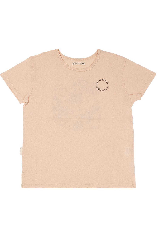 Ericeira Surf Skate T-Shirt OCEAN Light Pink