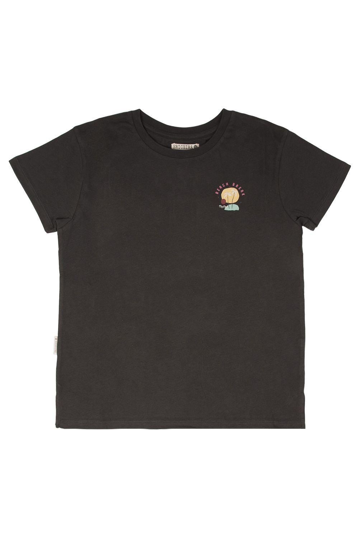 T-Shirt Ericeira Surf Skate ISLAND Charcoal