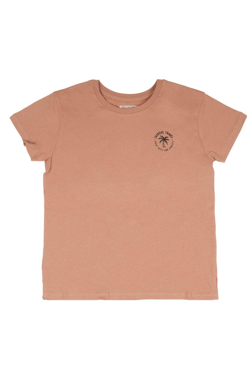 Ericeira Surf Skate T-Shirt HOLIDAYS Petal Pink