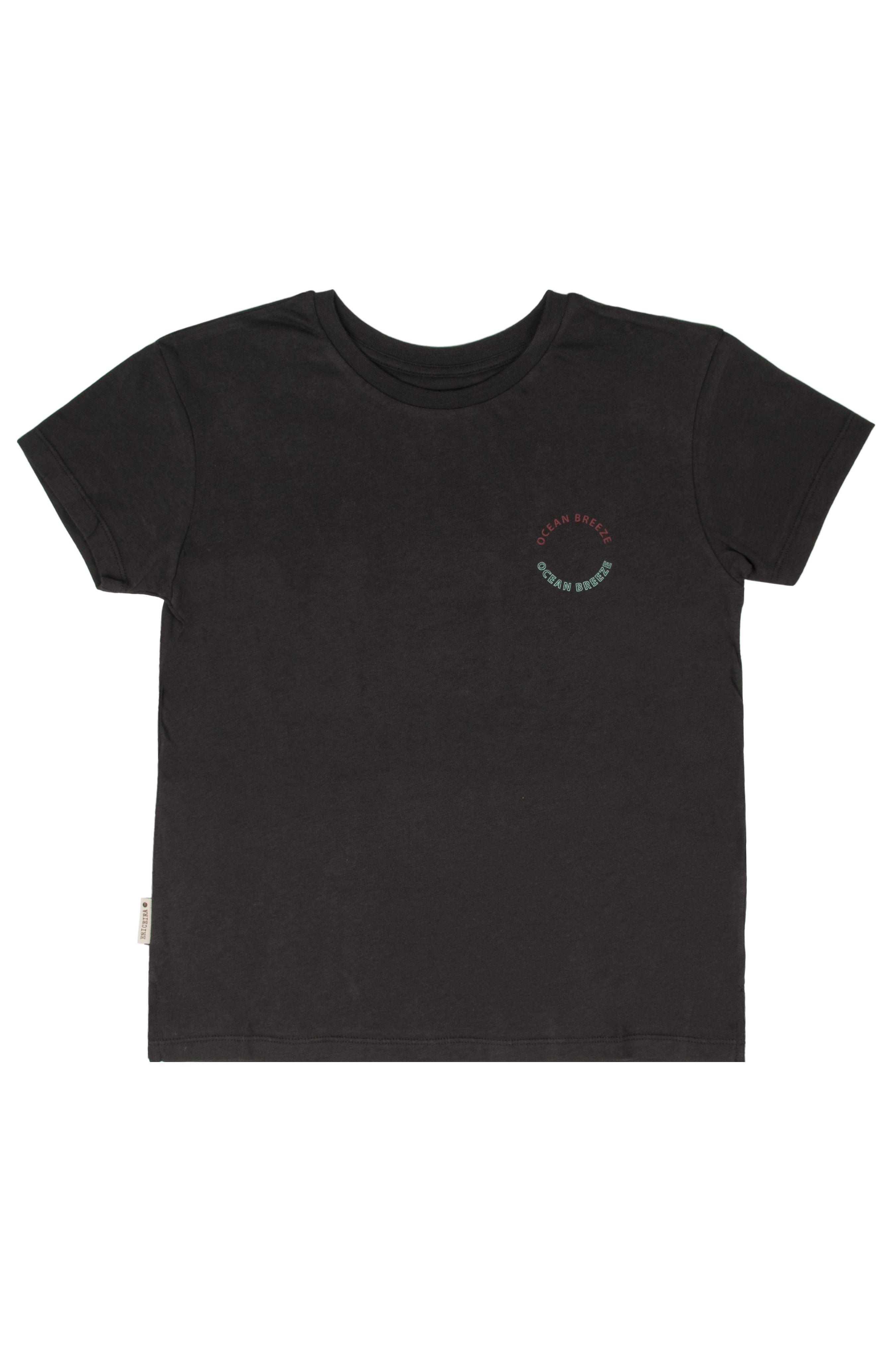 T-Shirt Ericeira Surf Skate OCEAN BREEZE Charcoal