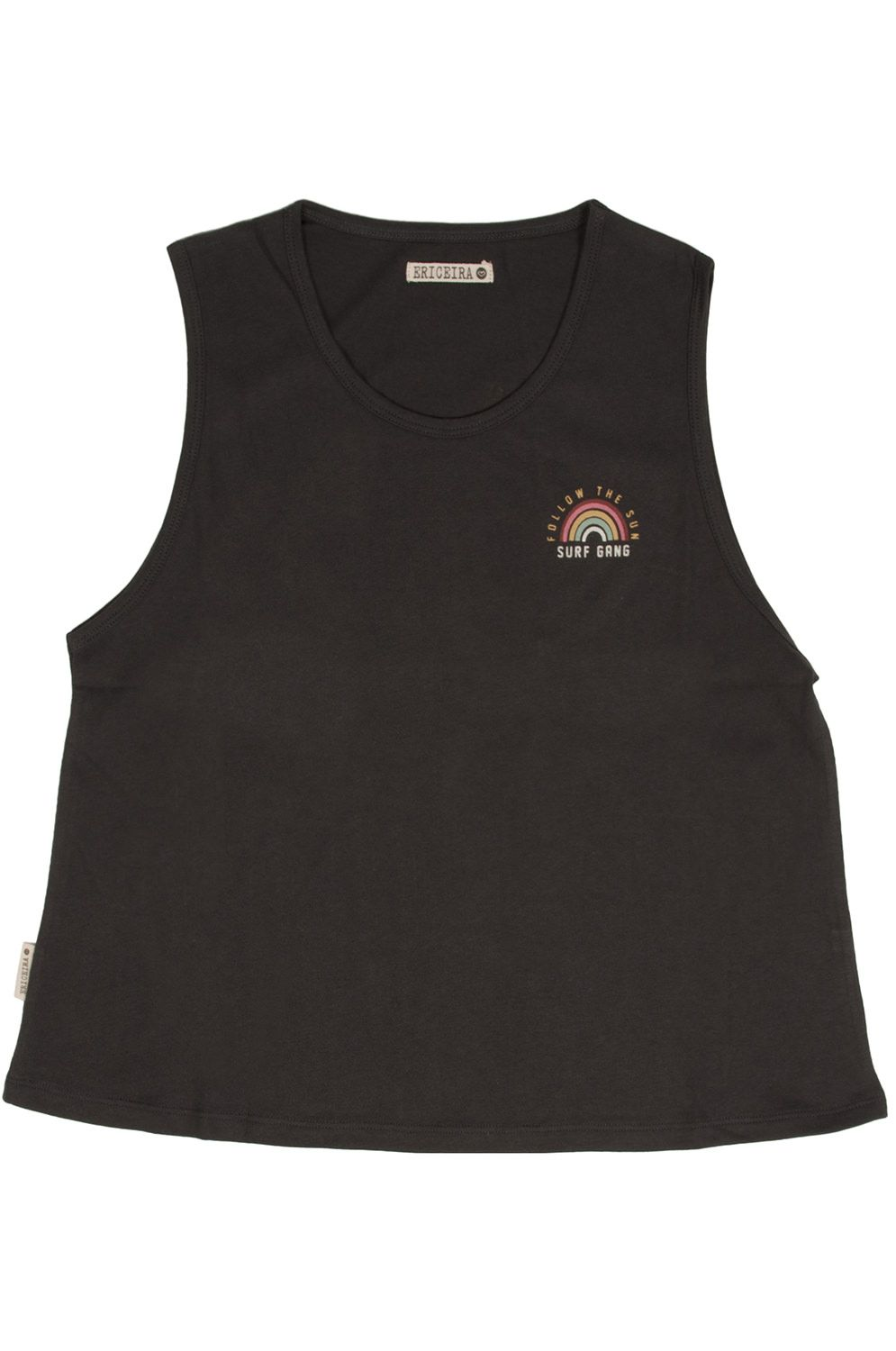 Ericeira Surf Skate Top SURF GANG Charcoal