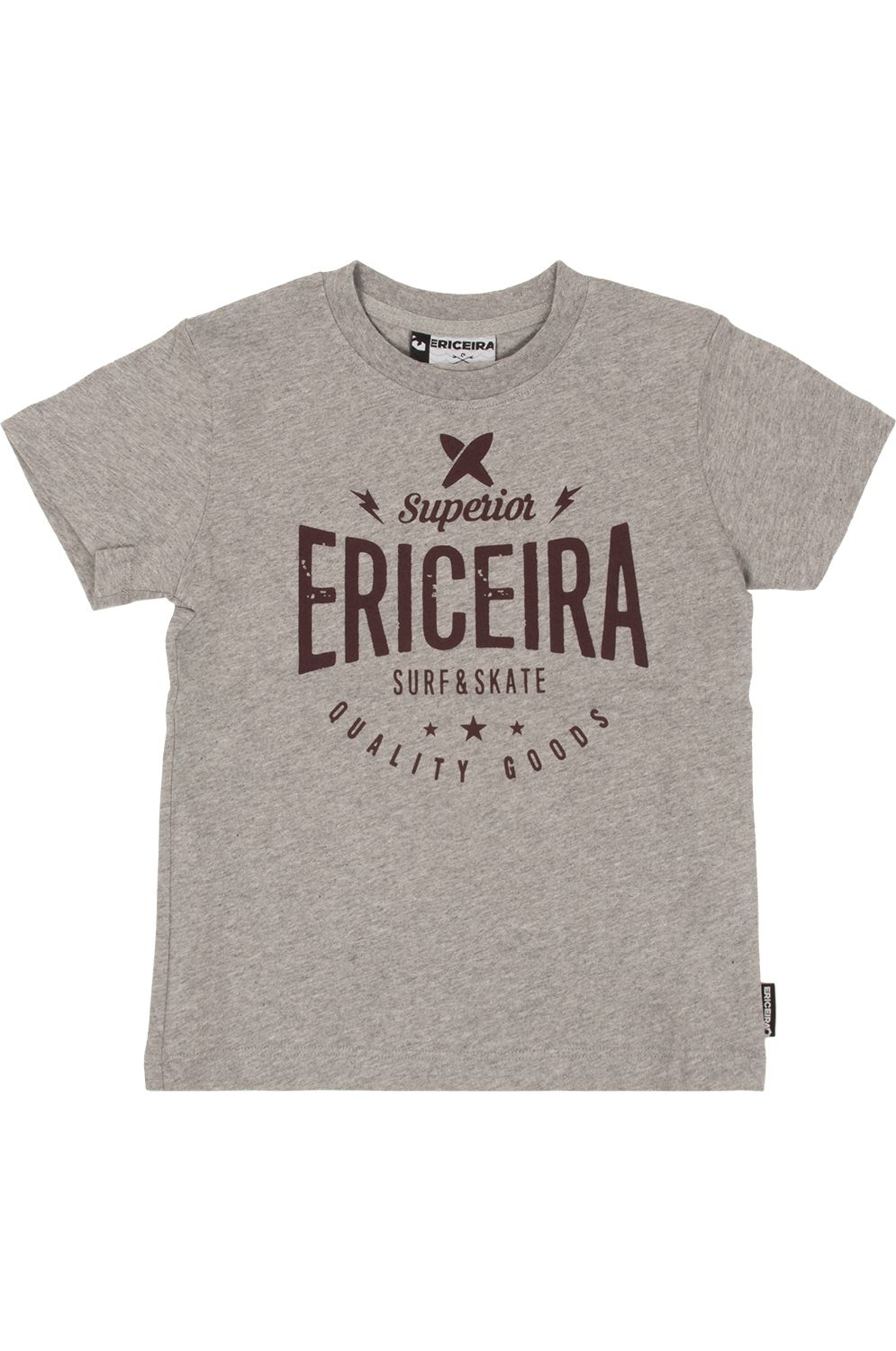 Ericeira Surf Skate T-Shirt SHIFT Grey Heather
