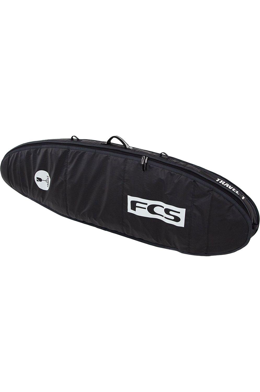 Fcs Boardbag TRAVEL 1 FUN BOARD Black/Grey