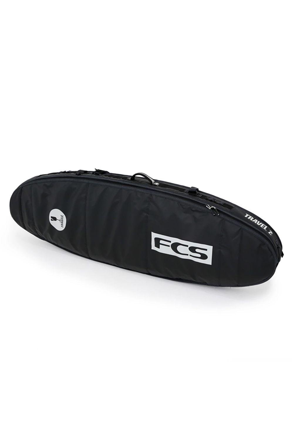 Fcs Boardbag TRAVEL 2 FUN BOARD 6'3 Black/Grey