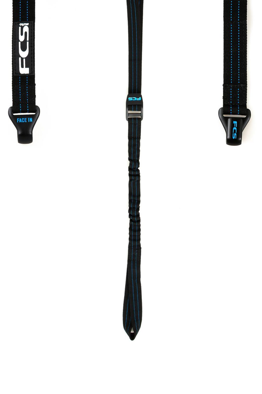 Fcs Fin Leash BUNGEE TIE DOWNS Black