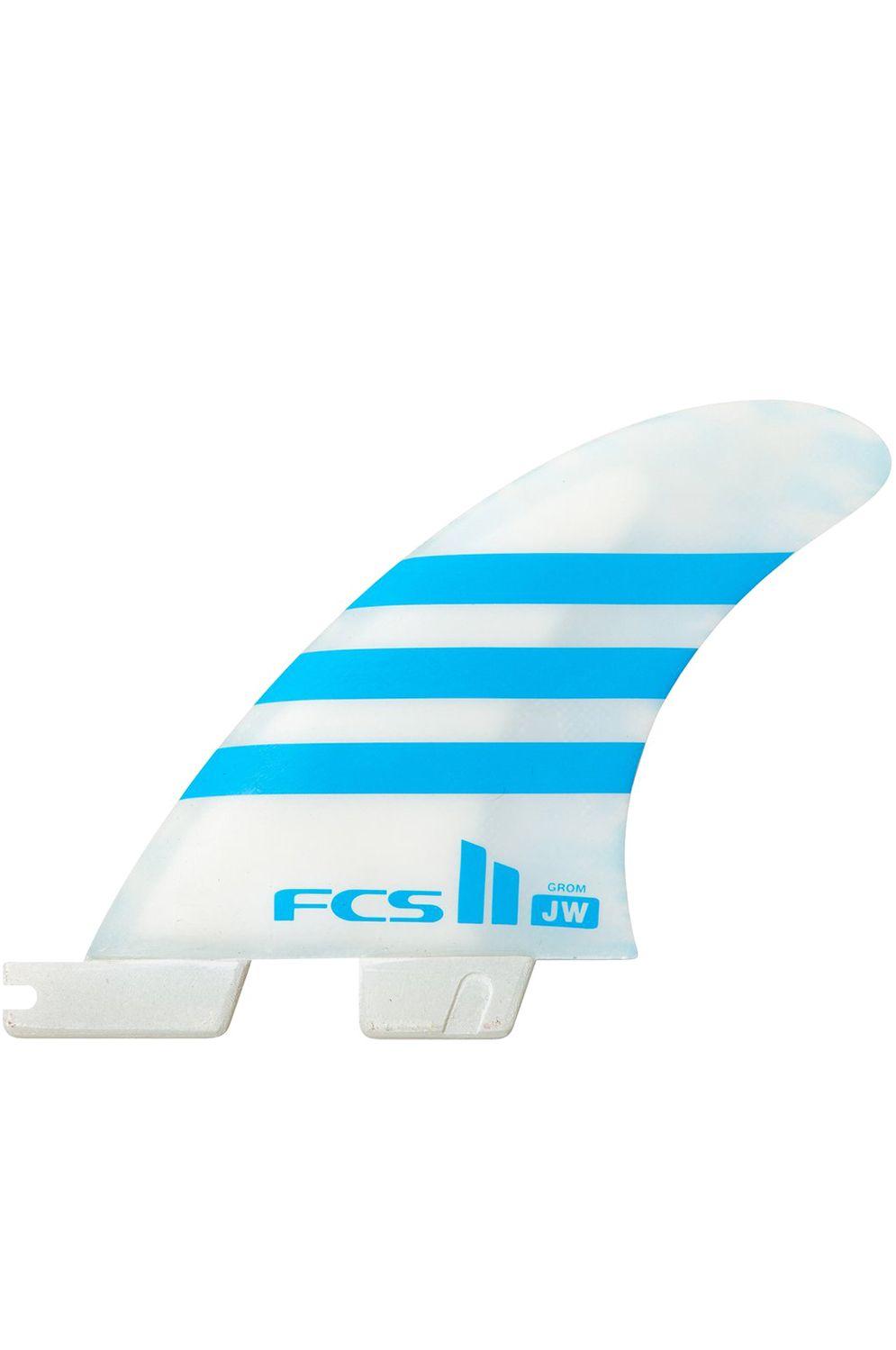 Quilha Fcs FCS II JW PC GROM BLUE/WHITE TRI Tri