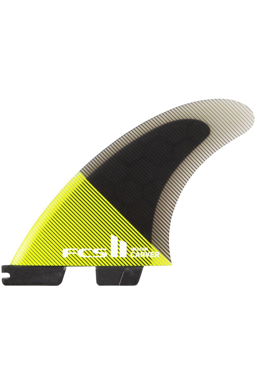 Fcs Fins II CARVER PC XLARGE ACID/BLACK TRI Tri