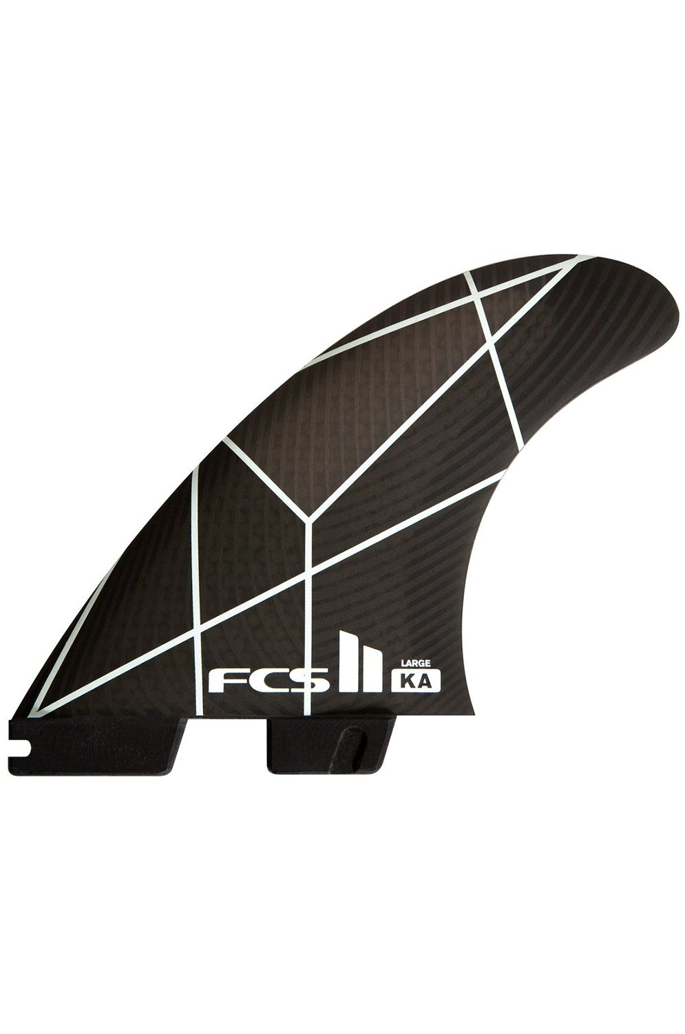 Fcs Fins II KA PC SMALL WHITE/GREY TRI Tri