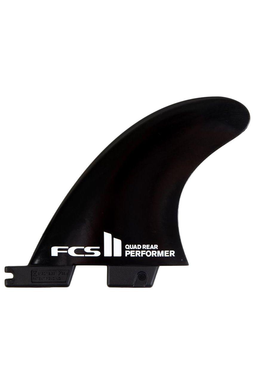 Quilha Fcs II PERFORMER BLACK MEDIUM QUAD REAR Quad Rear