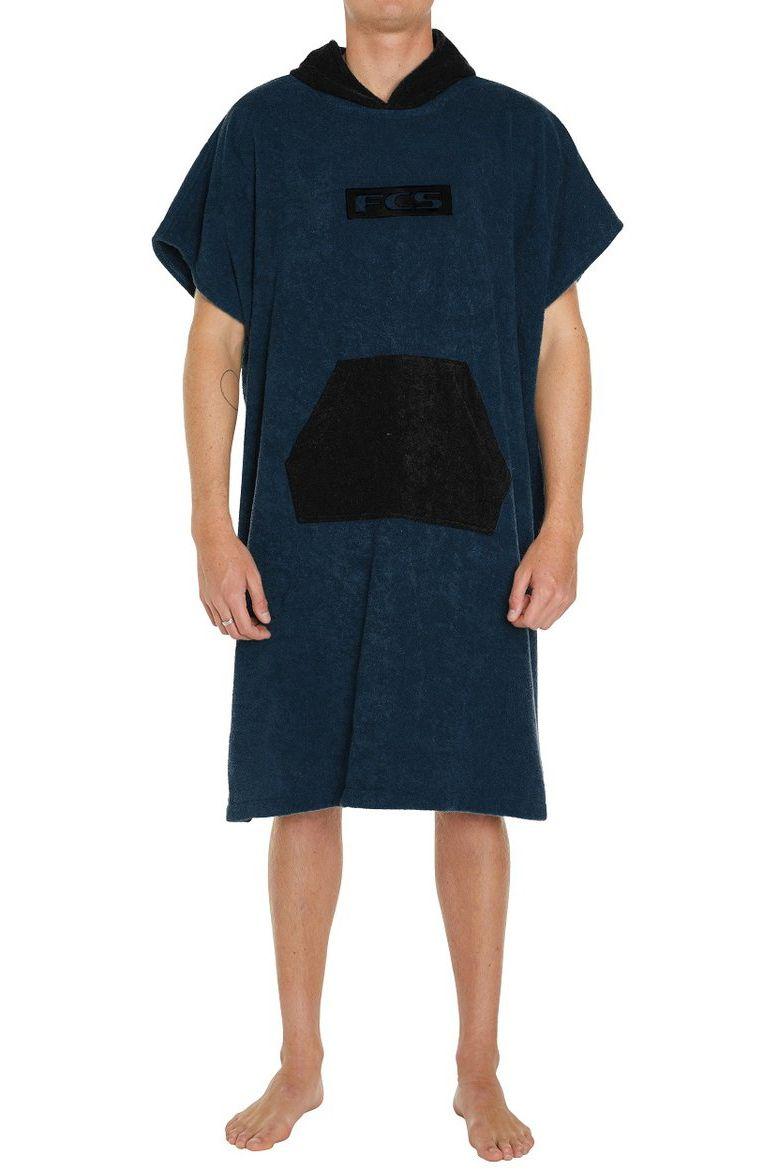 Poncho Fcs TOWEL PONCHO Navy/Black