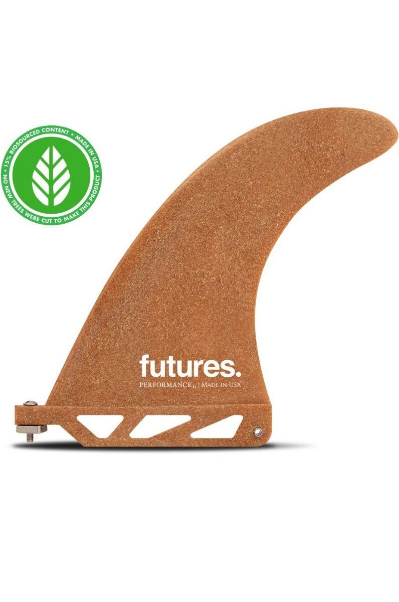 Quilha Future Fins 6.0 PERFORMANCE SAWDUST Single