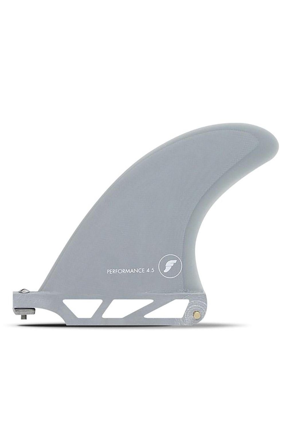 """Quilha Future Fins 4.5"""" PERFORMANCE SOLID/TRANSPARENT GREY Single"""