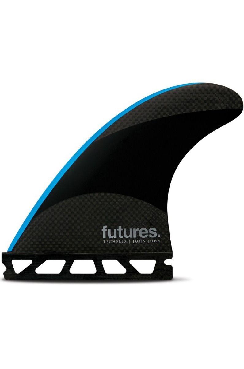 Quilha Future Fins JOHN JOHN-2 CARBON NEON BLUE Tri
