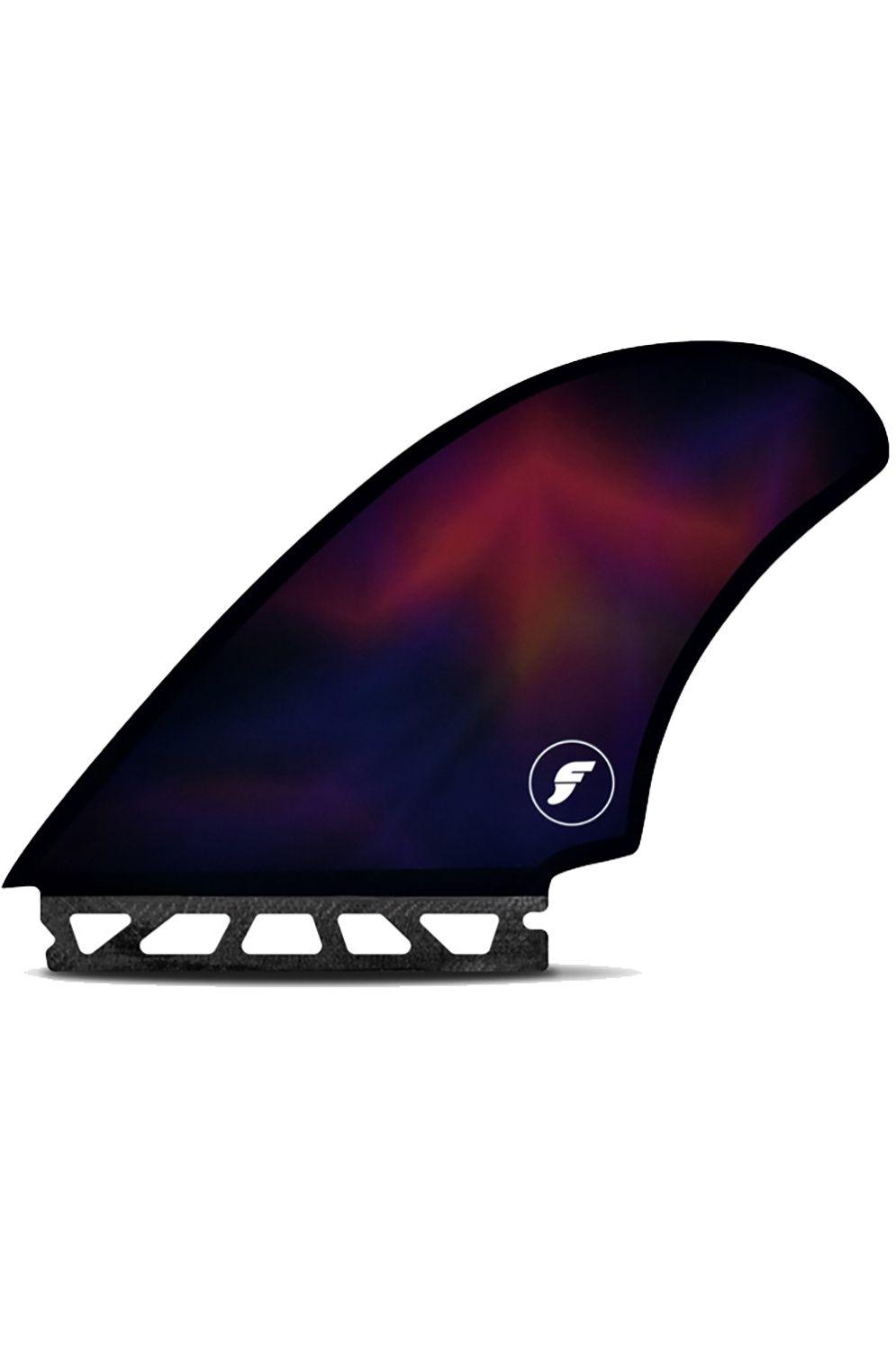 Quilha Future Fins MACHADO SS HONEYCOMB QUAD - BLACK/SWIRL Quad