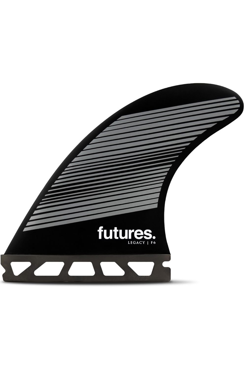 Future Fins Fins F6 GREY/BLACK Tri